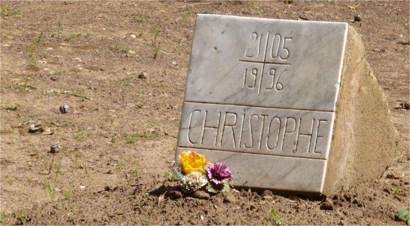 크리스토퍼의 묘지